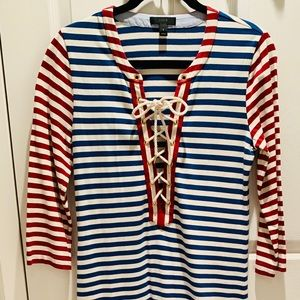 ❤️ J Crew COLLECTION STRIPED T-DRESS‼️